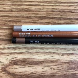 MAC Lot Of 3 Eyeliners